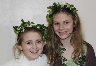 Luciana and Eliza as Persephone and Demeter