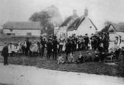 The Robin Hood Band was formed ca. 1900 in Nether Winchendon by men of that village and of Cuddington.  They rehearsed in a large room at the top of Vulcan House and played for the villages on Feast Days and other important occasions.